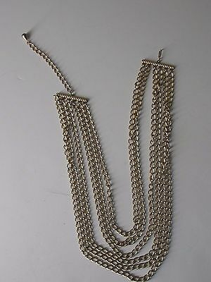 Vintage multi strand chain necklaces             WOW .99 CENTS NR
