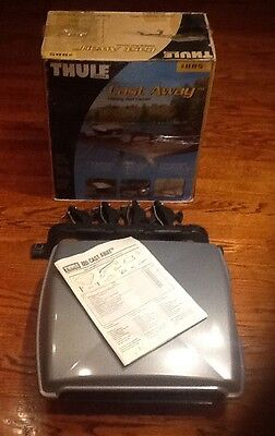 Thule Castaway 885 Fishing Rod Carrier w/ BOX And Key
