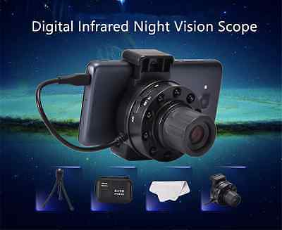 Android Mobile Digital Infrared Night Vision Scope Monocular Camera Lens New