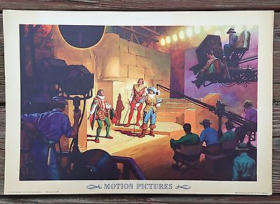 Vintage 1942 Original The Coca Cola Company Motion Pictures Litho Poster
