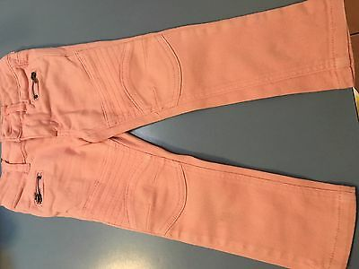 Little girls pink zip jeans, size 2-3 by Gumboot.