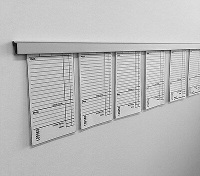 Docket / Note / Ticket Holder 1000mm long for paper, notes, posters or bills