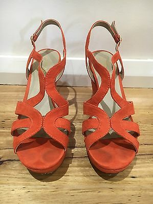Ladies Wedge Shoes Size 8.5