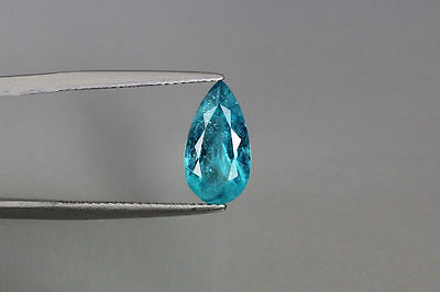 2.380 Ct 100% Natural! Excellent Cut Rare Superb Blue Apatite ~Rare To Find~!!!