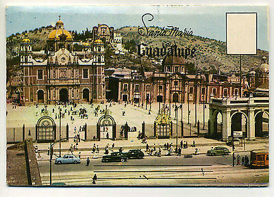 Vintage 1960's Fold-out Postcard View Book SANTA MARIA DE GUADALUPE, MEXICO