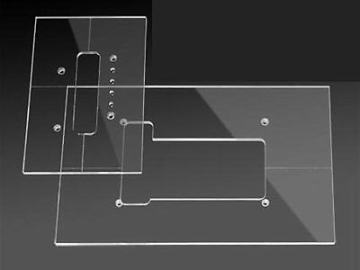Routing Template Set - Strat Tremolo Cavities
