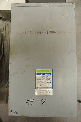 EGS HEVI DUTY 10 KVA Encapsulated  1 Phase Transformer HSIF10A 240/480- 120/240V
