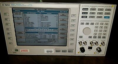 HP / Agilent 8960 Series 10 Digital WCTS Wireless Communications Test Set E5515C