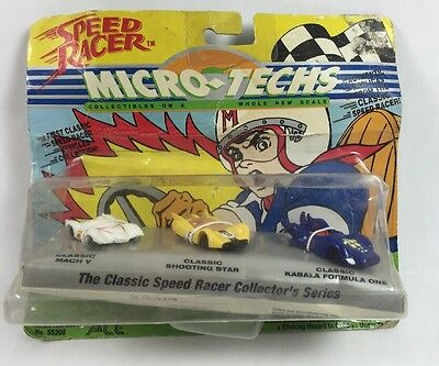Speed Racer Micro Techs Classic Collector Series 1994