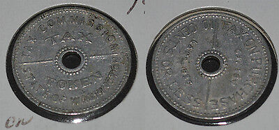Tax Token State of Washington Tax Commission 1935 10 cents or Less
