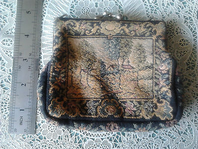ladies vintage tapestry collectable purse