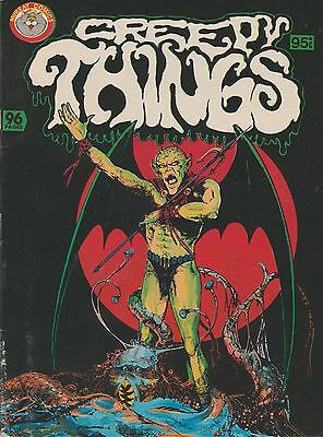 CREEPY THINGS Aust K.G. Murray VF 1980s Charlton Comics HORROR
