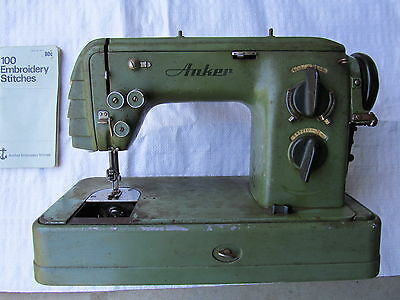 Anker sewing machine, old school, collectable.