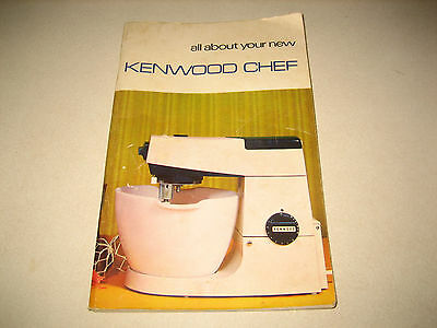 Kenwood Chef Instruction Manual And Recipe Book (Handy)