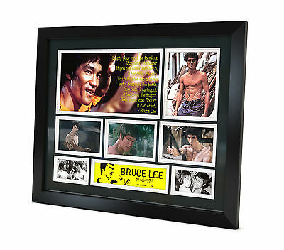 Bruce Lee Signed Photo Movie Memorabilia Limited Edition of 250 FRAMED