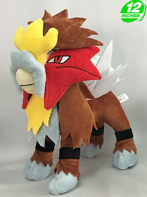Soft Toy Entei Dog Legendary Pokémon 30cm