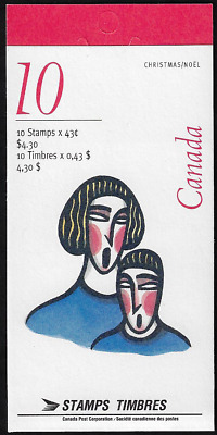 Canada Stamps - Booklet Pane of 10 - Christmas Carolling #1533a (BK172) - MNH