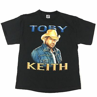 ©2005 Toby Keith L Shirt country rock garth brooks and dunn blake shelton vtg