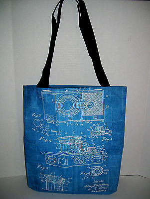 NEW - Heinz Kuppenbender Contax Camera Patent - Canvas Tote Bag USA
