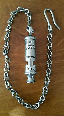 Middlesbrough Constabulary Police Whistle  J.hudson & Co