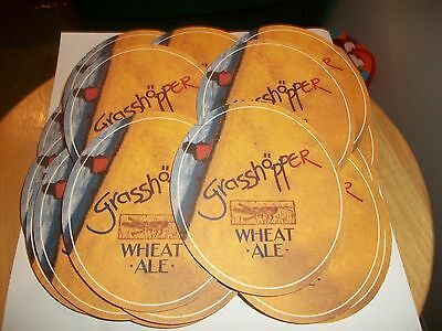 25- Brand New- Grasshopper Wheat Ale- Beer Coasters