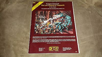 Dungeons & Dragons - The Lost Caverns of Tsojcanth - Module S4 - 1982