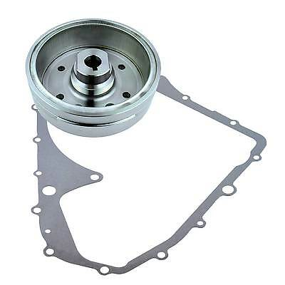 Kit Flywheel + Crankcase Cover Gasket For Arctic Cat 400 4x4 Auto FIS 2006 2007