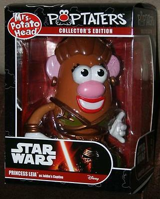 Star Wars Princess Leia Poptaters Mrs. Potato Head Slave Sealed Release Jabba
