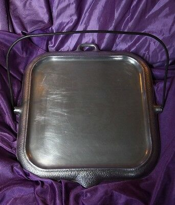 SILVER SEAL GRIDDLE    Guardian Service Cookware   1930's-40's GREAT CONDITION