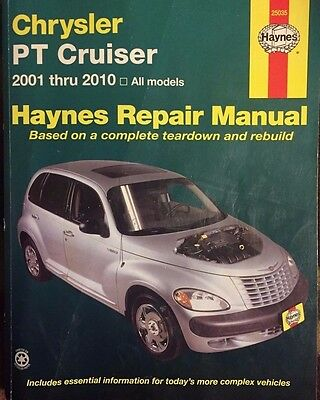 Haynes Pt Cruiser 2001-2010 All Models Service & Repair Manual
