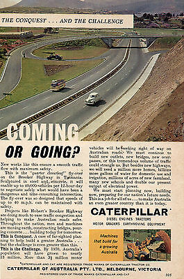 Caterpillar Australia   Original Colour Advertisement