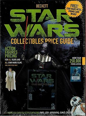 New December 2016 Beckett Star Wars Collectibles Price Guide 1977 - 2016 + Card