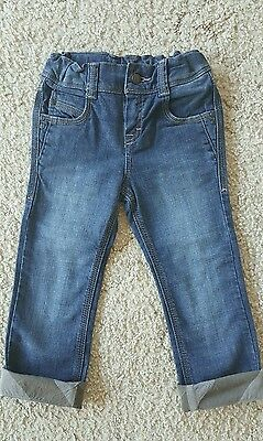 DIVINE GENUINE Designer BURBERRY Denim Rolled Up Signature Jeans Size 3 - AS NEW