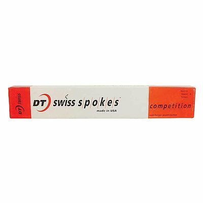 DT Swiss Competition 2.0/1.8 270mm Silver Spokes Box of 100