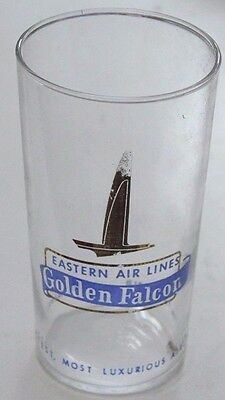 Eastern Airlines Golden Falcon Glass
