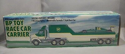 BP Limited Edition Toy Race Car Carrier 1993 Promotional Item New