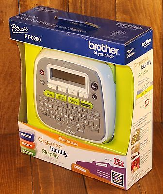 Brother P-Touch PT-D200 Label Printer - New In Package
