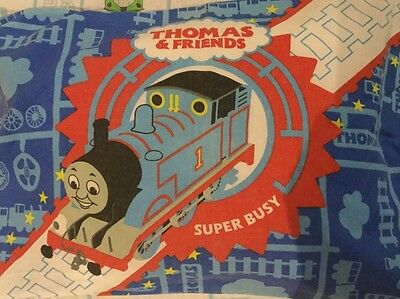 Thomas the tank - fitted cot sheet set & pillow