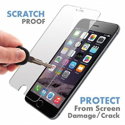 100%Genuine Tempered Glass Screen Protector For iPhone 7 Plus  {ay4