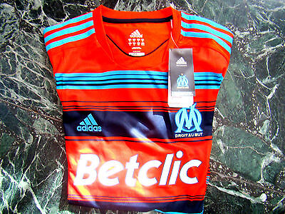OM - Olympique de Marseille - maillot  NEUF - Officiel Adidas- taille = XL