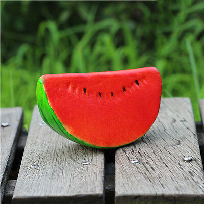 Decorative Fruit Faux Fake Prop Display Watermelon Cubes Photography Props
