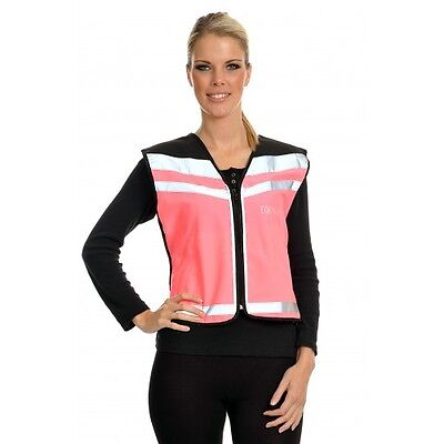 Equisafety Air Waistcoat Horse Rider Safety Wear Pink Size XL