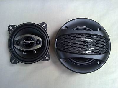 "Car stereo speaker 4""(100mm) 200W flush mount coaxial two way in one set( 2 pcs)"