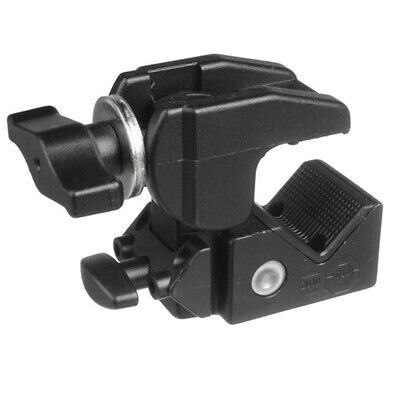 New In Box Manfrotto C1575B Avenger Aluminium Super Clamp (Black) Support 15kg