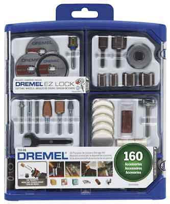 Dremel 710-08 All-Purpose Rotary Accessory Kit160 Piece Hand Tools Free Shipping