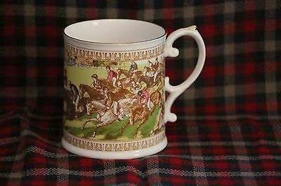 Lovely Caverswall - 200 Years Of The Derby Commemorative Mug
