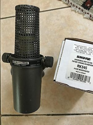 Vintage Shure SM7 Dynamic Mic Made in USA w/ New RK345