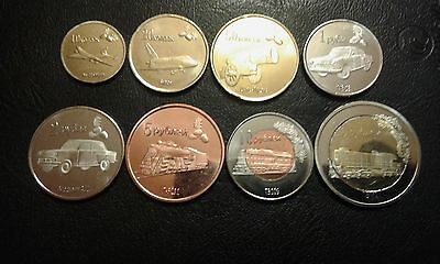 LUGANSK REPUBLIC set of 8 coins