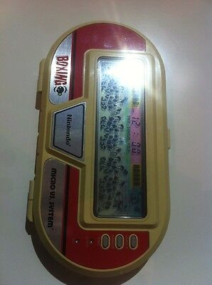 nintendo game watch boxing micro vs system 2 joueurs