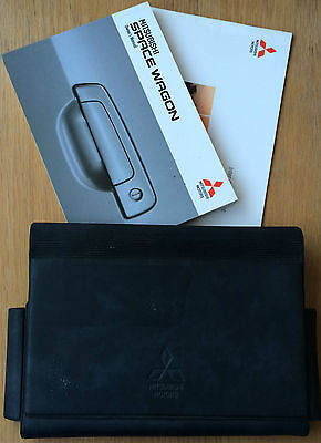 Mitsubishi Space Wagon Owners Manual Handbook Pack With Wallet 1998-2005 Ref492